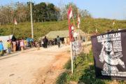 Aksi Penolakan Pendirian Pabrik Semen Indonesia