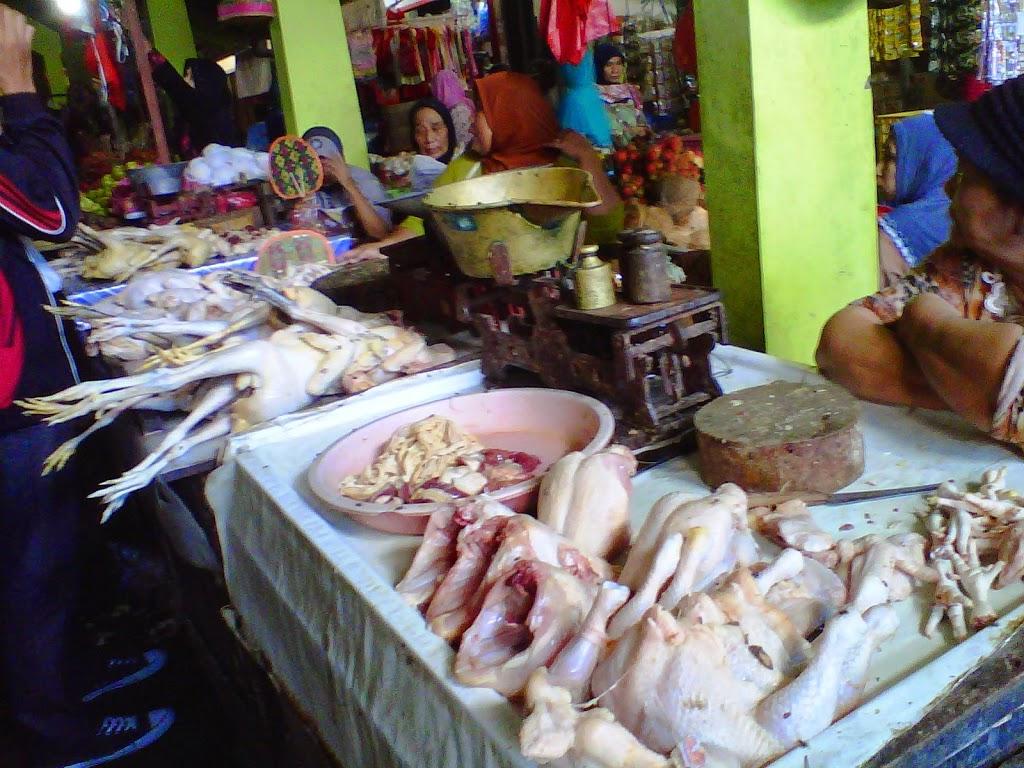 Harga daging Ayam Potong Malah Naik