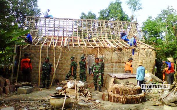 Angin Kencang Sapu Dua Desa di Pamotan