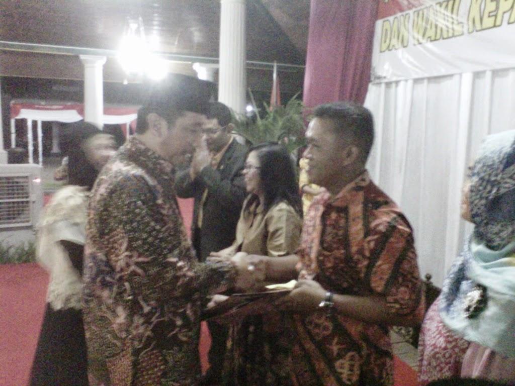 Ketuan Pengadilan Negeri dan Wakapolres Rembang Ganti