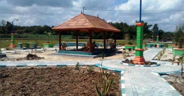 Desa Padaran Punya Taman Hijau Baru