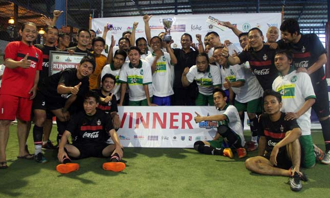 FWR Pertahankan Gelar The Winner