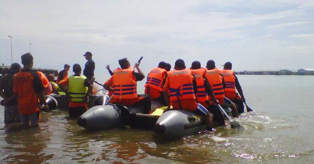 Puluhan Relawan Dilatih Tanggang Bencana