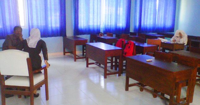 Dua Siswa Ikuti Ujian Susulan