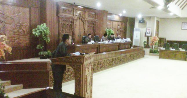 Alasan Sulit Koordinasi, Komisi C Sedikit Kasih LHP BPK