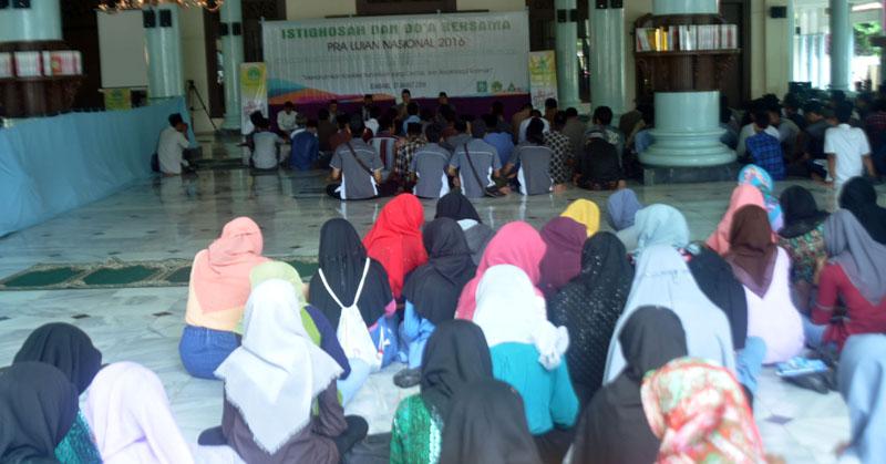 IPNU IPPNU Rembang Gelar Doa Bersama Jelang Ujian Nasional