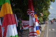 Agustus, Penjual Bendera Merebak