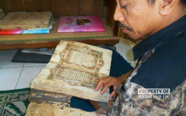 Tiga Kitab Manuskrip Kuno Ditemukan di Lasem