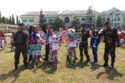 Parade Merah Putih, Pelajar NU Gandrirojo Kampanye Cinta Tanah Air