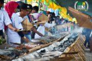 Bakaran 3500 Porsi Ikan Meriahkan Benowo Festival 2016