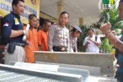 Dua Pekan, Polres Ungkap Empat Kasus Kriminal