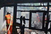Satu Rumah Ludes Dilalap Api