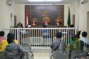 Sidang Perdana Kasus Intimidasi Wartawan, Dua Wartawan Jadi Saksi