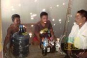 Polres Kembali Amankan Puluhan Botol Miras