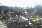 Dua Rumah Terbakar, Satu Orang Tewas