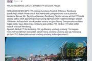 Lewat Facebook, Warga Rembang Dihebohkan Kabar Kedatangan FPI yang Kontroversial