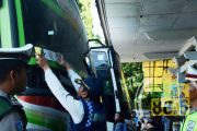 Jelang Lebaran, Armada Bus Dirazia