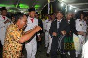 Bupati Rembang Ikut Joged Dalam Resepsi Kenegaraan HUT RI