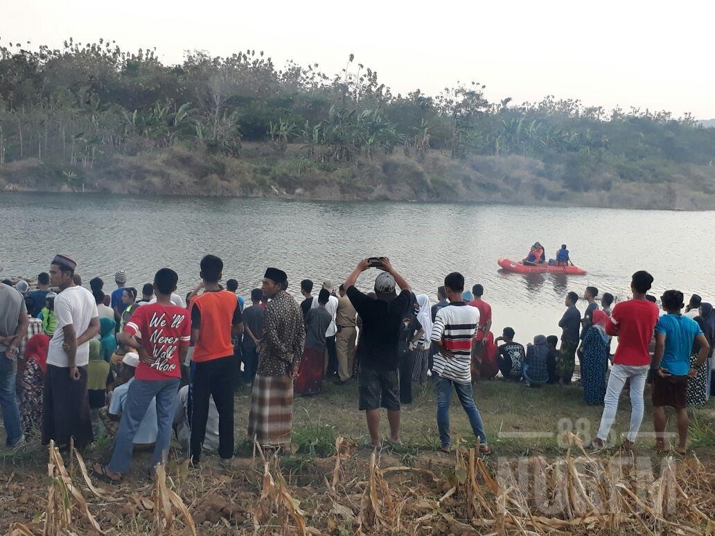Petani Paruh Baya Dilaporkan Tenggelam, Pencarian Ditunda