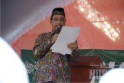 Para Kyai, Ketua DPRD, Hingga Bupati, Ikut Berorasi Tolak FDS
