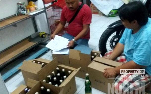85 Botol Miras Disita Polisi