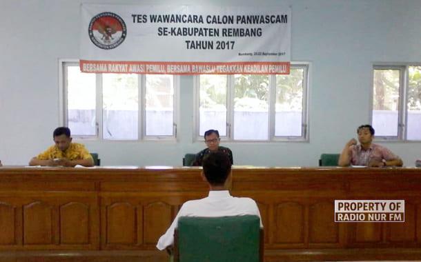 86 Orang Berebut Kursi Panwascam di Rembang