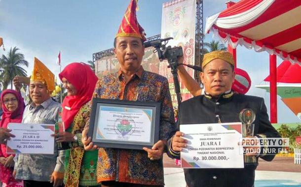 Bikin Bangga, Posyantek Asal Rembang Juara I Nasional