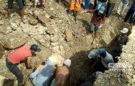 Kecelakaan Kerja, Penambang Batu Tewas Tertimbun Tanah