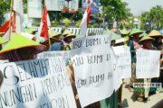 Massa Penolak Semen Gelar Aksi 'Lagi'