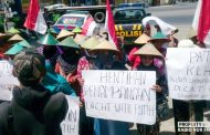 Tolak Pabrik Semen, Puluhan Massa JMPPK Gelar Aksi