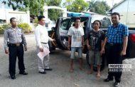 Pencuri Besi 450 Kg di Rembang Dibekuk Polisi