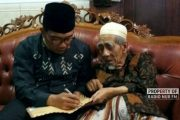 Ridwan Kamil Juga Sowan ke Mbah Moen Sarang Rembang