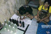 Dari Cafe dan Warung Kopi, Polres Sita Puluhan Botol Miras