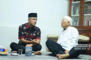 Bahas Asian Games dengan Gubernur Jateng, Gus Mus : Saya Mirip Messi
