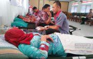 Peringati HKN, Warga dan Karyawan Diajak Donor Darah