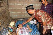 Duh! Pria Lumpuh di Rembang Ini Hidup Sebatang Kara