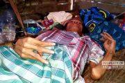 Pria Lumpuh Sebatang Kara di Rembang, Hanya Pasrah Ketika Banjir di Rumahnya