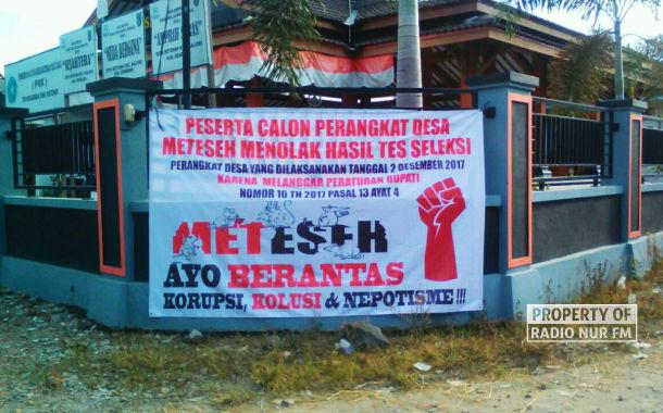 """Diduga """"Main-main"""", Warga Meteseh Protes Penyelenggara Seleksi Perangkat Desa"""