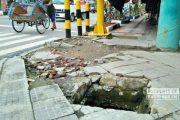 Trotoar Jalan Kartini Rampung Digarap, Jalan Pemuda Apa Kabar?