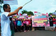 Massa Pendemo Cantrang Bergerak, Pantura Rembang Lumpuh