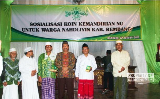 Melalui Koin NU, PCNU Rembang dan Lasem Wujudkan Kemandirian Organisasi