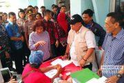 Menteri Susi Tinjau Pendataan Kapal Cantrang di Rembang