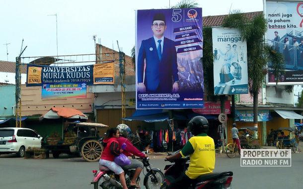 Ditertibkan, Baliho Partai Bergambar Wakil Bupati Rembang Kini Terpajang