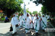 Jelang Pemberangkatan, Jemaah Haji di Rembang Latihan Perdana