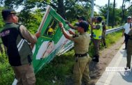 Total Ada 221 Alat Peraga Kampanye Ilegal Ditertibkan di Rembang