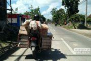 Sepeda Motor Bawa Keranjang Belakang, Juga Jadi Sasaran Tilang