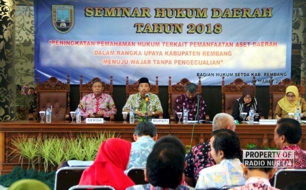 Kejar Predikat WTP, Pemkab Rembang Setarakan Prinsip Administrasi
