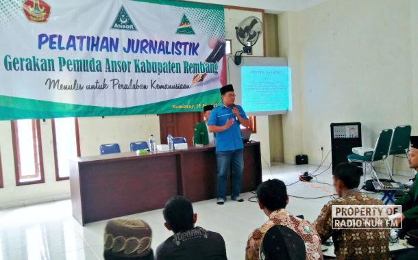 Ansor Rembang Bekali Kader dengan Wawasan Jurnalistik
