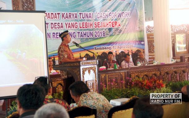 Dana Desa 2018 untuk Rembang, Capai Rp 229 Milyar