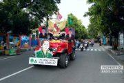 Momentum Hari Kartini, IPNU IPPNU Rembang Riding Napak Tilas